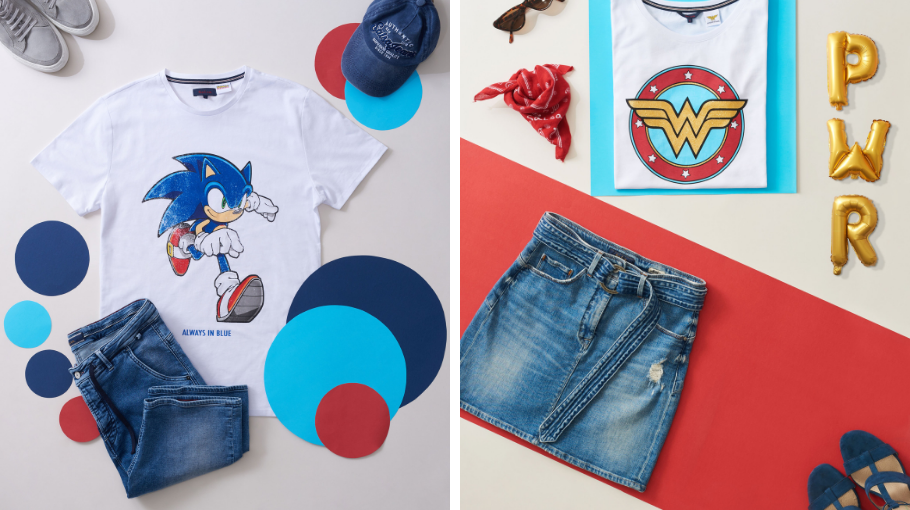 SONIC, WONDER WOMAN, LEGO E DISNEY NO UNIVERSO SALSA